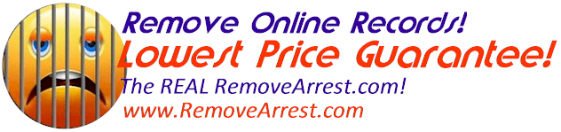 Featuring Instant Page Removal!  Call us for immediate service: 561.288.0655  Remove Arrest Records & Mugshot Listings. Internet's #1 Removal Firm 6 years straight! Online Arrest Record & Mugshot Removal & Unpublishing!